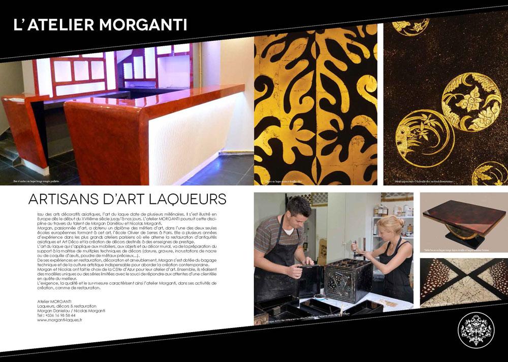 Atelier Morganti- Magazine Perspective