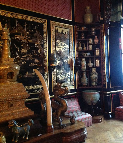Musee chinois Chateau de Fontainebleau