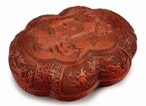 Boîte époque Qianlong (1735 - 1796)