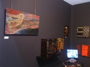 Creation laque contemporaine - Antibes