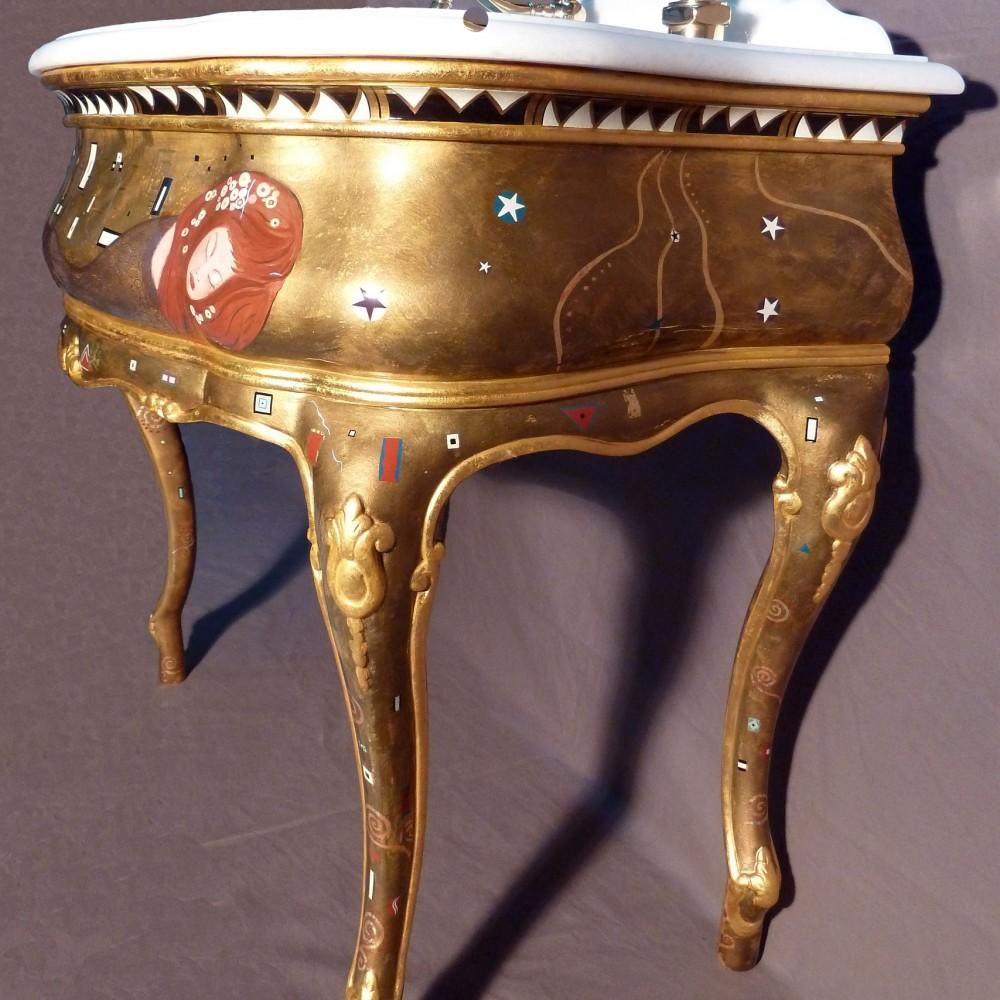 création vasque Klimt