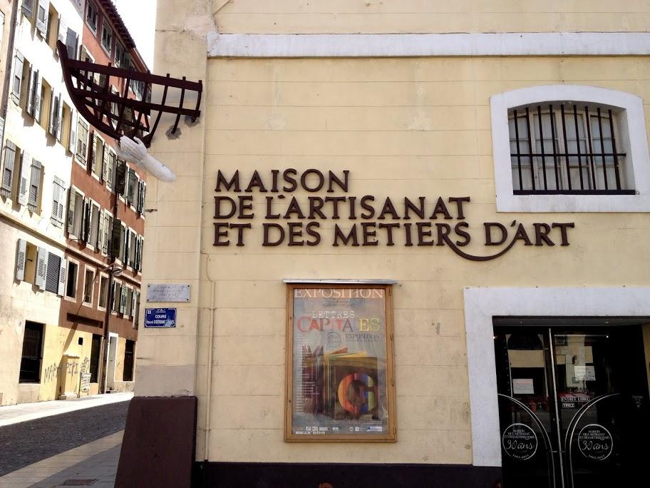 L'atelier Morganti à la Maison de l'Artisanat et des Métiers d'Art